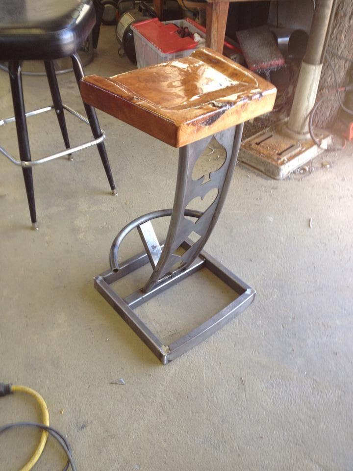 Custom Made Bar Stool By Steel It Inc Custommade Com