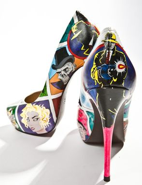 Custom Made Dick Tracy Heels