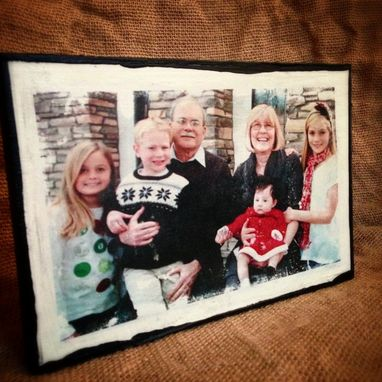 Custom Made Custom Photo Transfer Wall Art To Reclaimed Wood