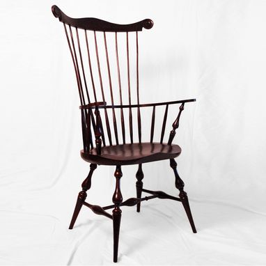 Custom Made Comb Back Chair