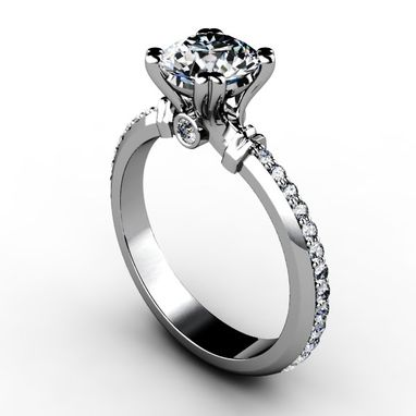 Custom Made Diamond Engagement Rings