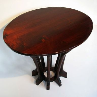 Custom Made Cherry Oval Table
