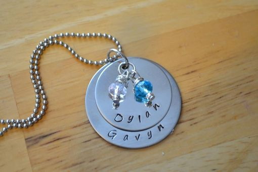 Custom Made Doubel Stack With 2 Charms