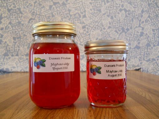 Custom Made Homemade Jelly, 16 Oz. (Pint), Mayhaw, Dewberry, Peach, Plum, Pepper Jelly