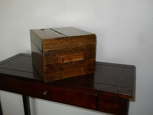 Custom Made Anniversary Box W/ Secret Compartment