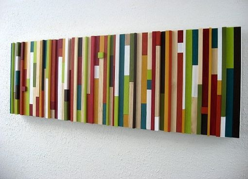 Custom Made Modern Wood Art