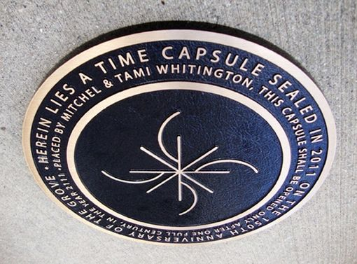 Custom Made Time Capsule, Bronze