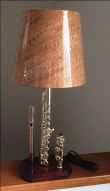 Custom Made Flute Lamp