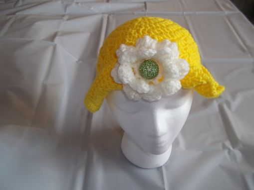 Custom Made Yellow Summer Hat
