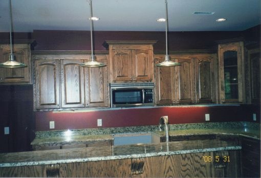 Custom Made Oak Kitchen
