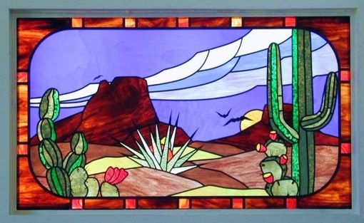 Custom Made Southwestern Stained Glass