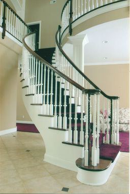 Custom Made Contemporary Curved Stair