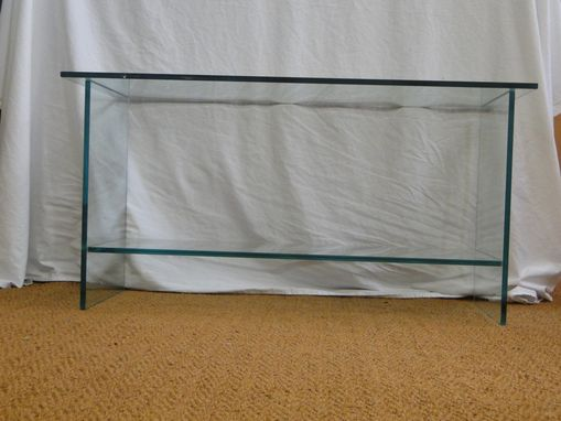 Custom Made Custom Made All Glass Table/Desk