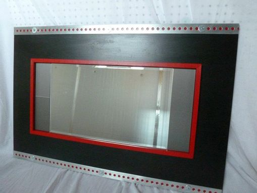 Custom Made Decorative Zinc Mirror