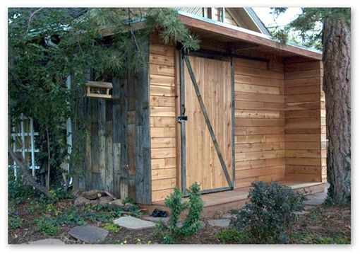 Hand Made Bike And Ski Shed By Rossmonster Design