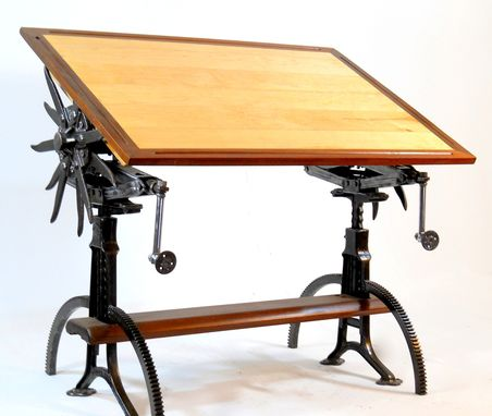 Custom Made Very Unique Custom Made Drafting Tables.