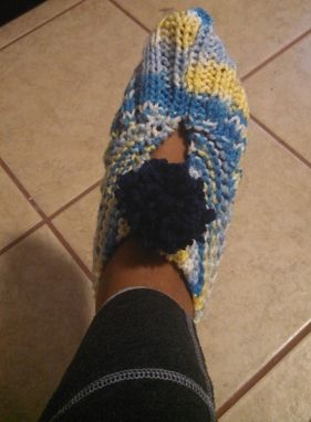 Custom Made Knitted Slippers