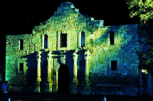 Custom Made Fine Art Photography Of The Alamo Evening Sky
