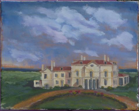 Custom Made Newport Mansion (Astor's Beechwood) - 5 X 7 Greeting Card Print