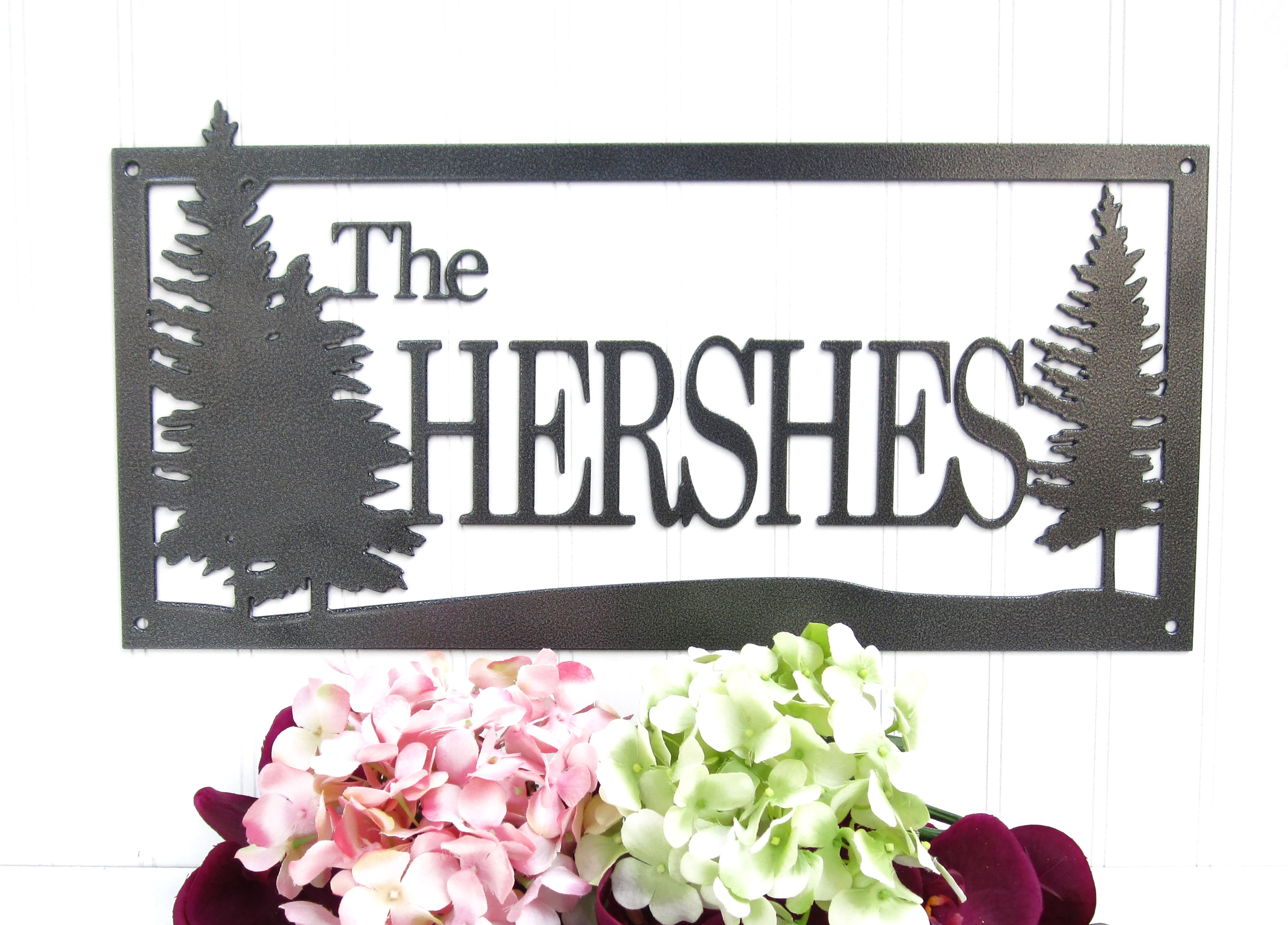 Outdoor Last Name Signs For House - Outdoor Designs