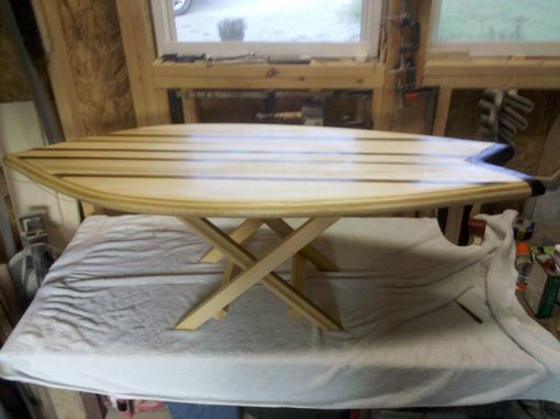 Custom Made Surfboard Coffee Table