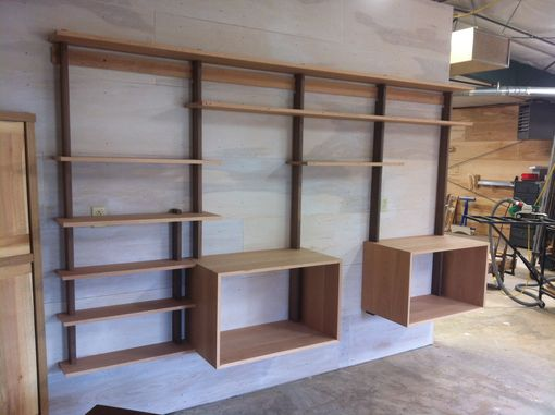 Custom Made Shelving Configurations