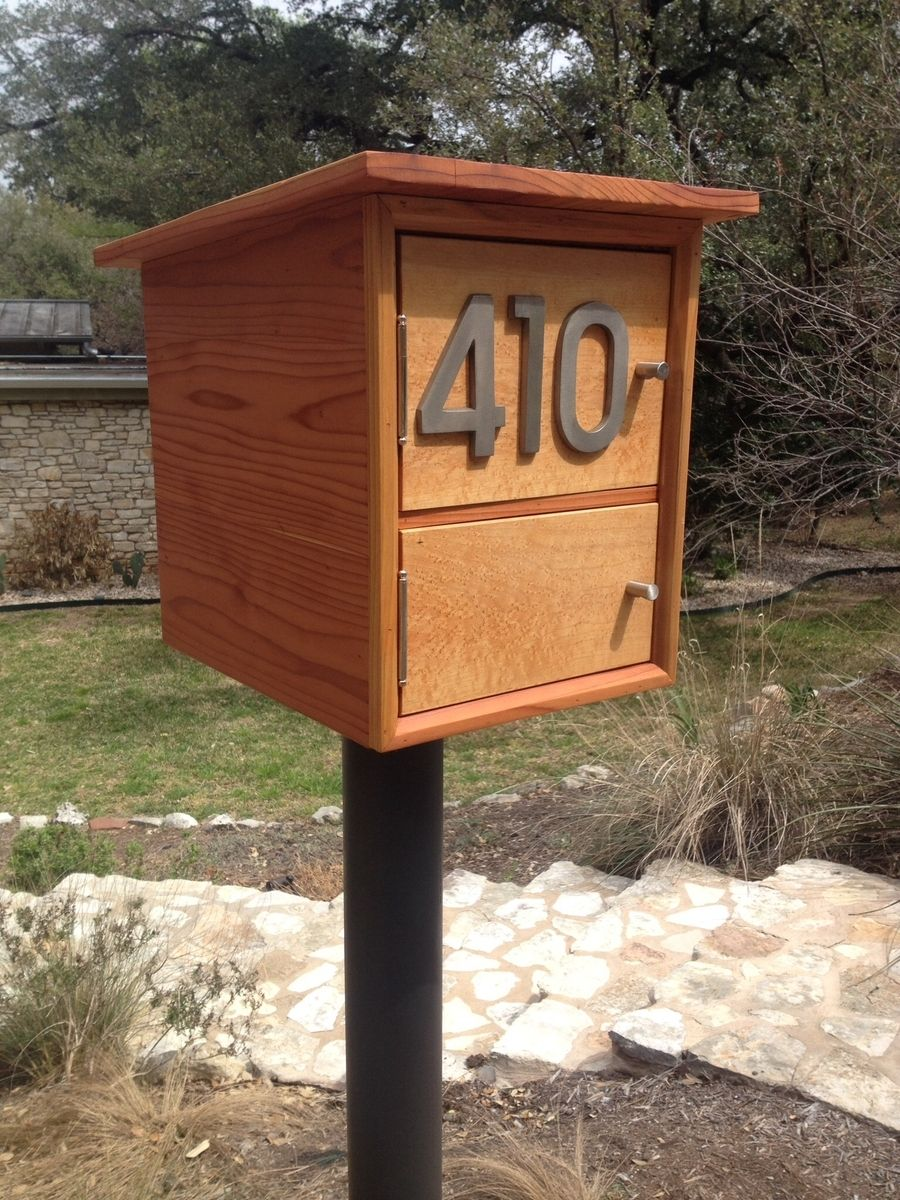 modern mailbox ideas. Custom Made Modern Mailbox Modern Mailbox Ideas S