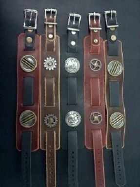 Custom Made Leather Watch/Wrist Bands