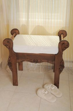 Custom Made Pine Bench,Wood Bench, Entry Bench