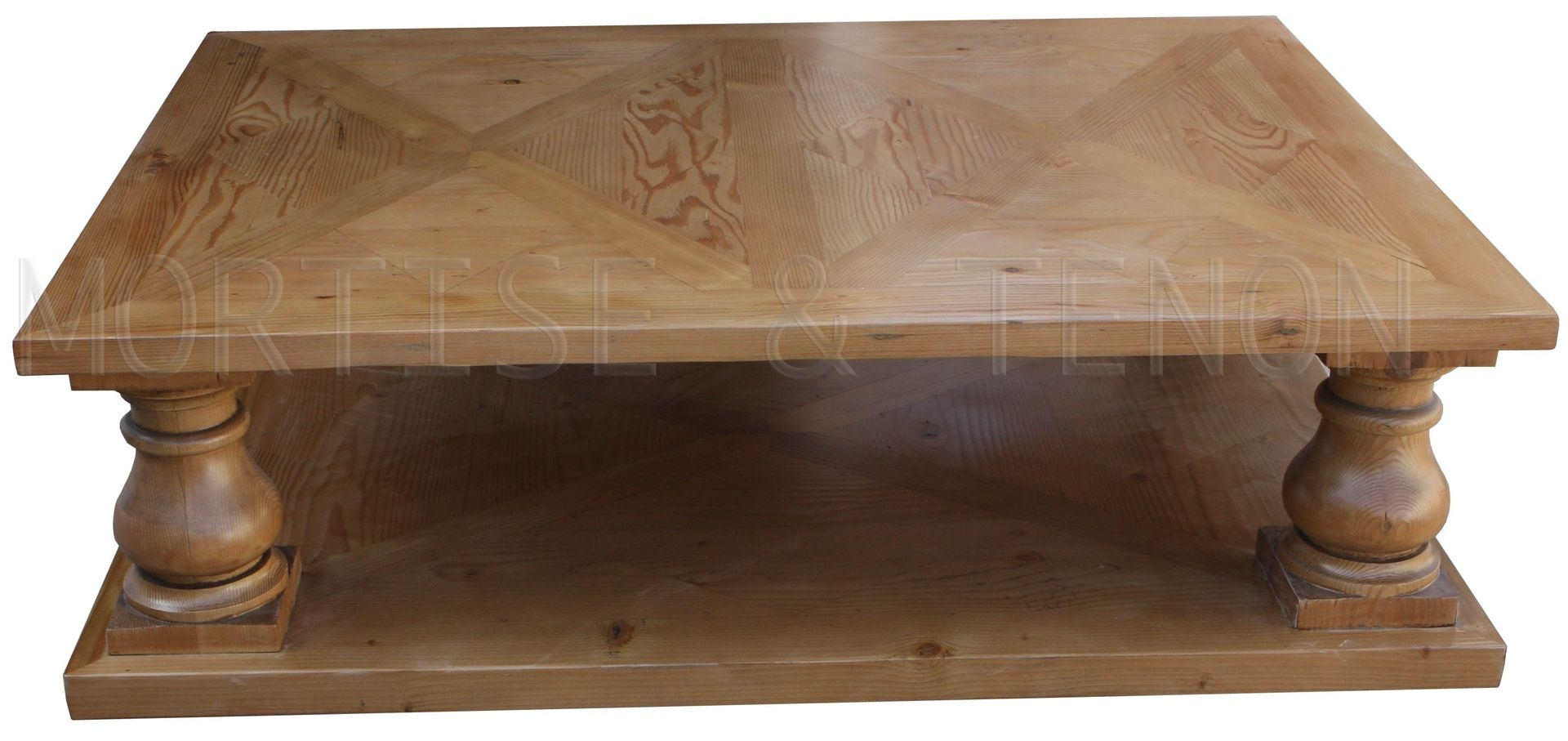 Custom Made Parquet Coffee Table
