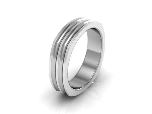 Custom Made Mens Wedding Band