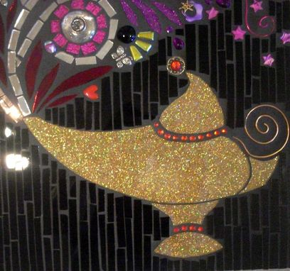 Custom Made Mosaic Stained Glass Wall Decor