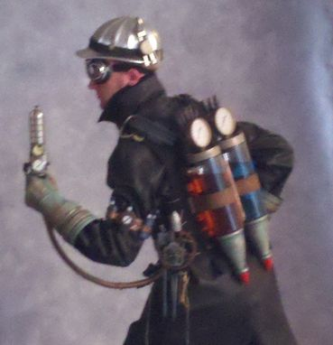 Custom Made Steampunk Jetpack