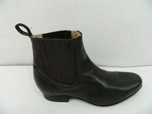 Custom Made Woman Boots Genuine Calf Leather Chelsea Woman Ankle Boots 9 Colors To Choose
