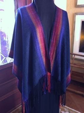 Custom Made Handwoven Silk Ruana