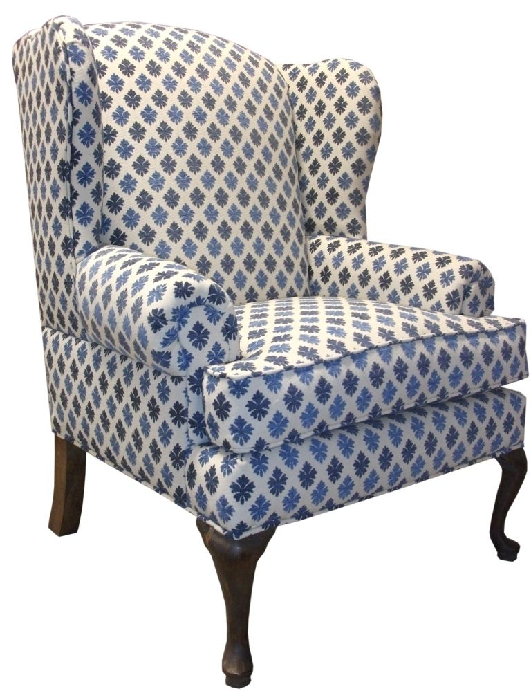 Custom Traditional Wingback Chair By Access Designer Decor
