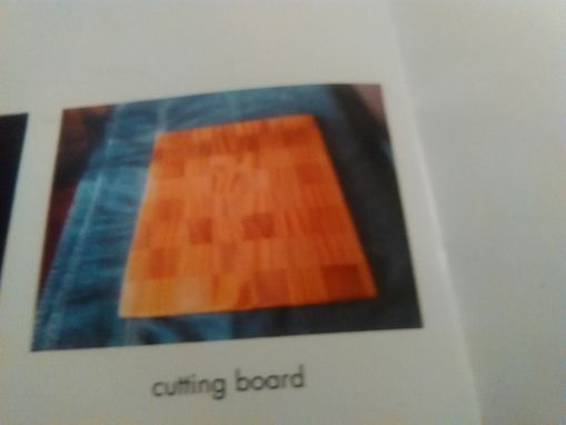 Custom Made Cutting Board