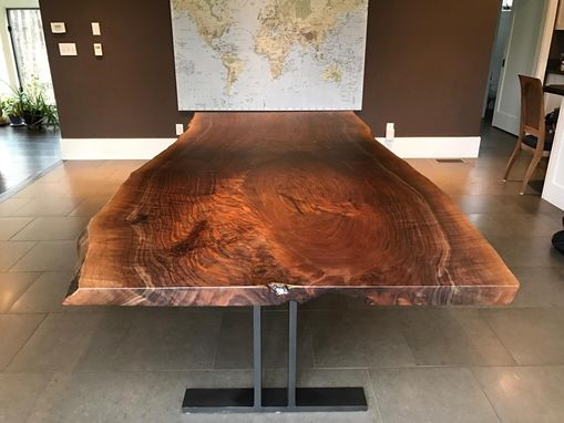 Custom Made Black Walnut Table