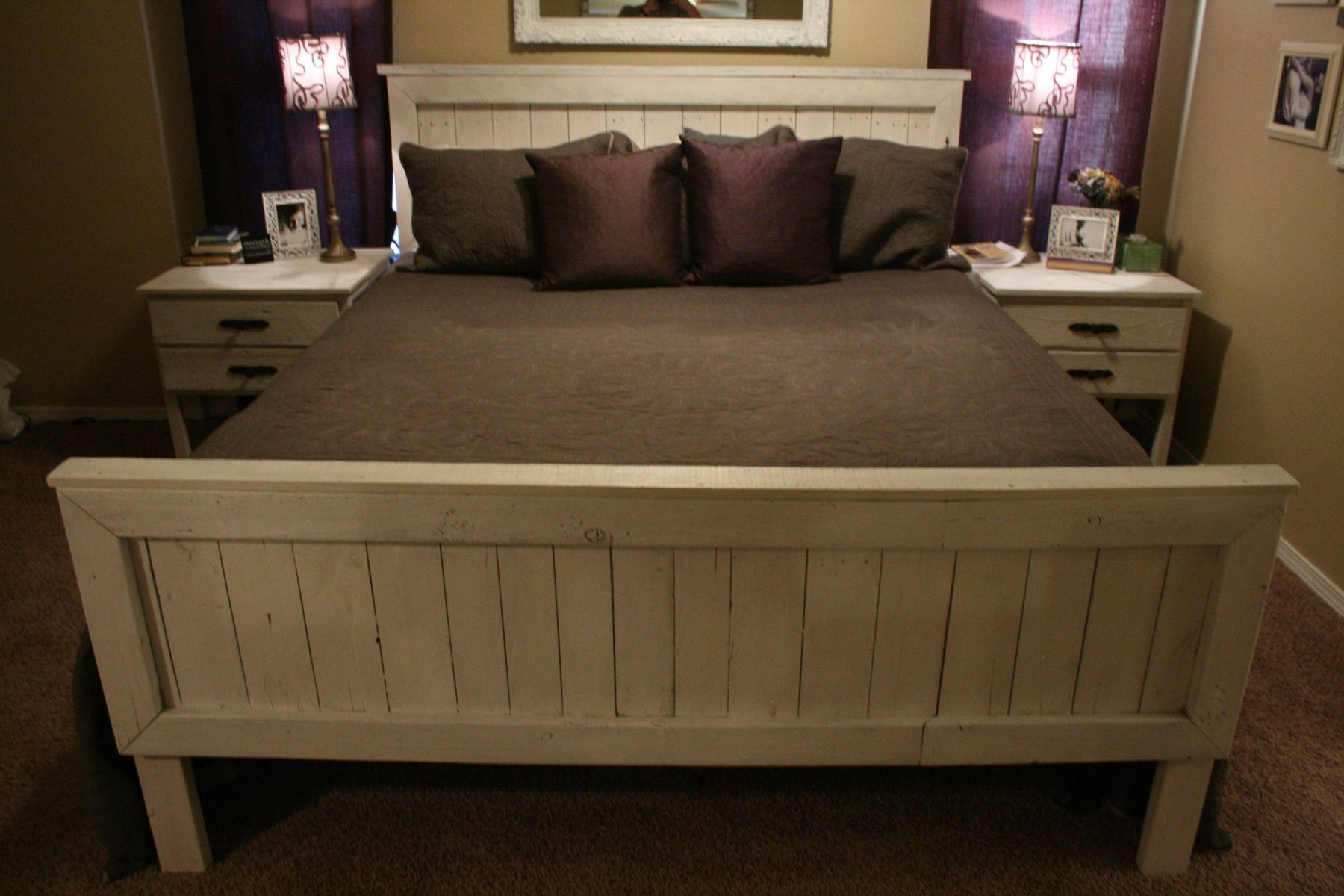 custom made bed frame