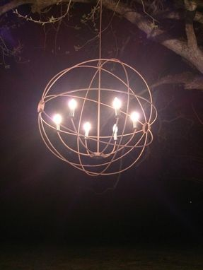 Custom Made Orb Light