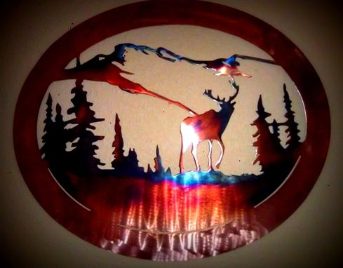 Custom Made Mountain Elk Art