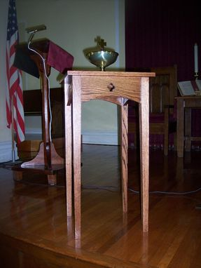 Custom Made Baptismal Table
