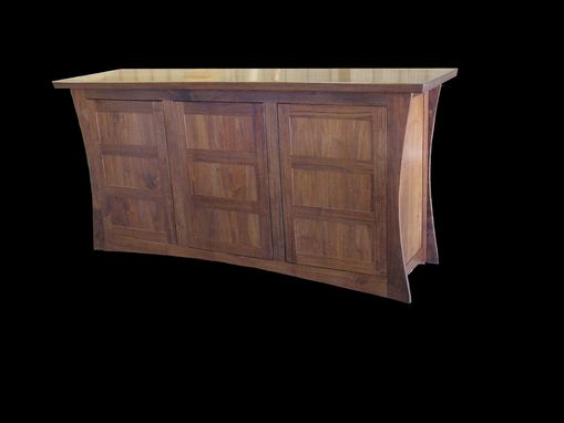 Custom Made Black Walnut Sideboard