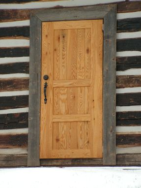 Custom Made Rustic Cabin Door