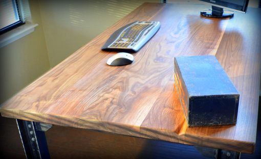 Custom Made Industrial Executive Desk