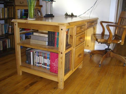 Custom Made Old Methods, Modern Machines, Reclaimed Lumber With Ebony Accents