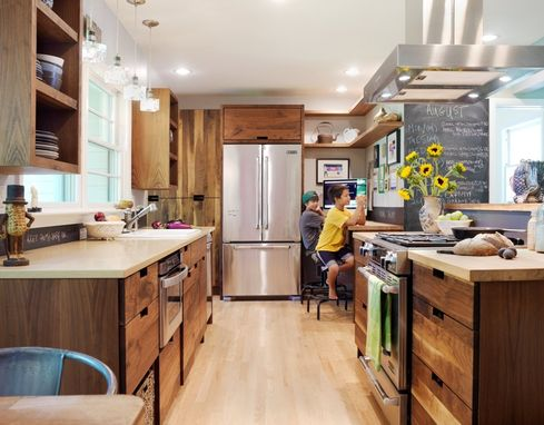 Custom Made Eco-Friendly Walnut Kitchen