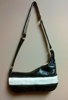 Custom Made Lambskin & Cobra Handbag/Purse