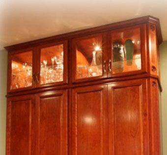 Custom Made Cherry Pantry