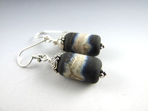 Custom Made Earrings - Obsidian Collection